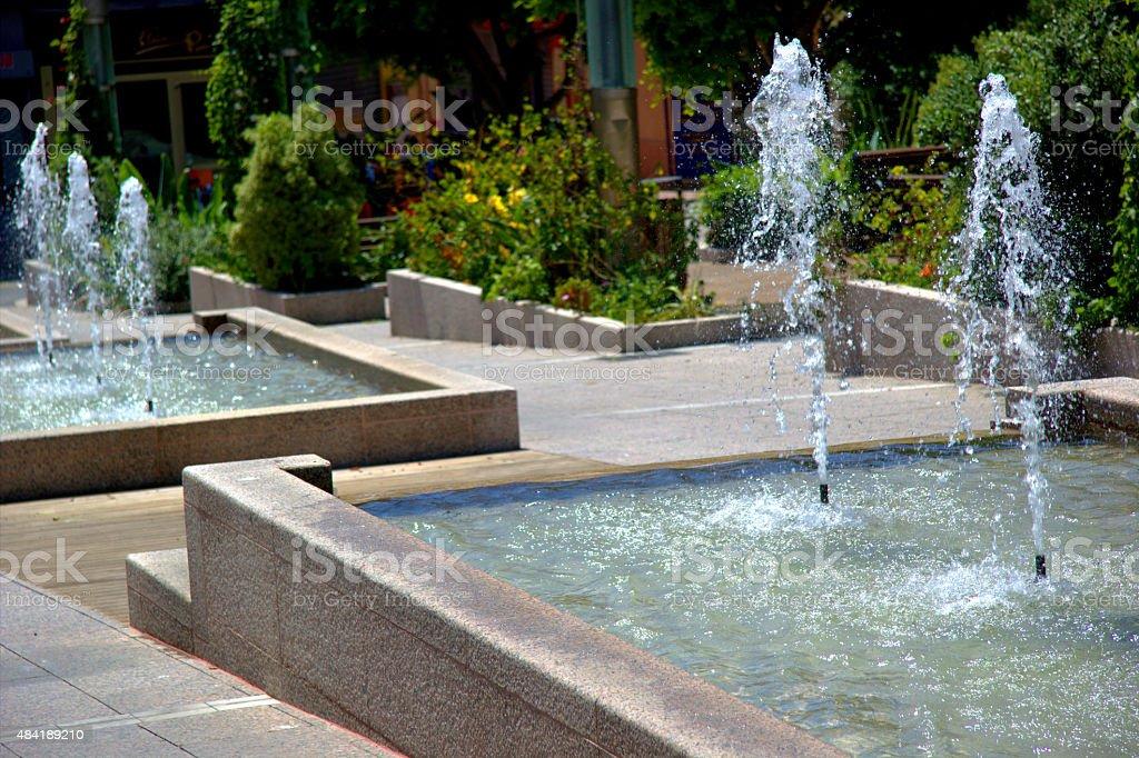 Brunnen im ccity – Foto