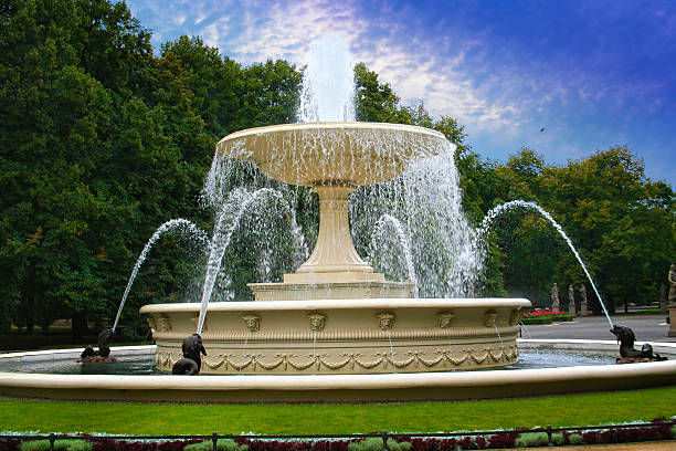 Fountain in the Saxon Garden – Foto