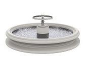 istock Fountain Isolated 1227177953