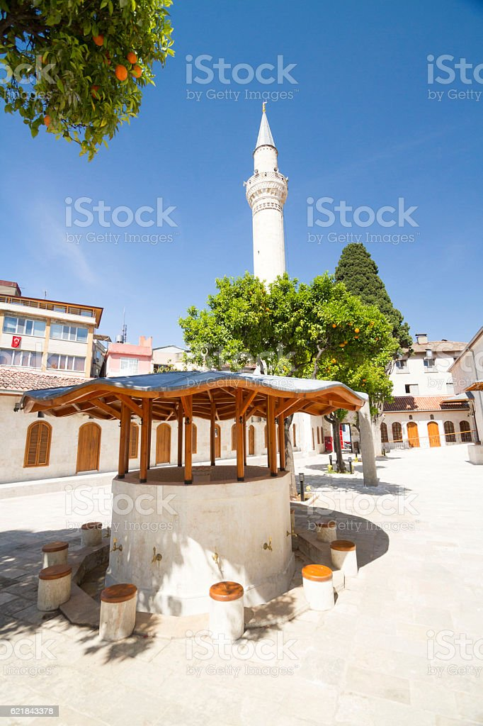 Fountain of Great Mosque - Antakya stock photo