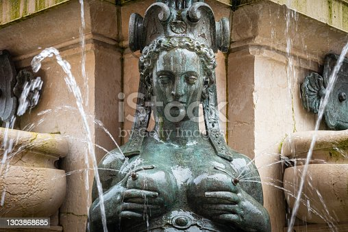 fountain of Neptune in Bologna