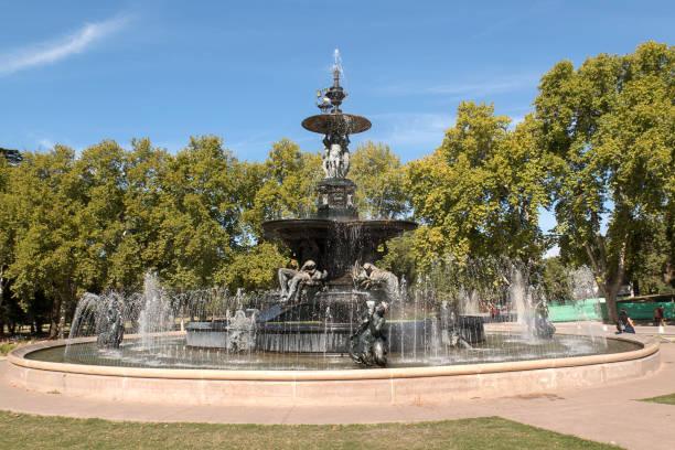 Brunnen der Kontinente, Park San Martín – Foto