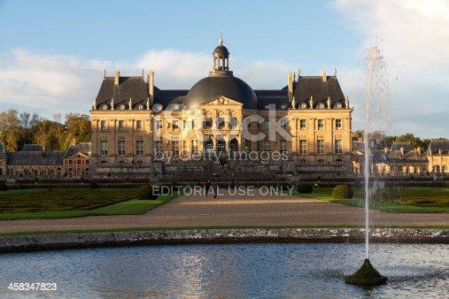 istock Fountain of  Vaux-le-Vicomte castle 458347823