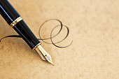 Fountain pen & flourish