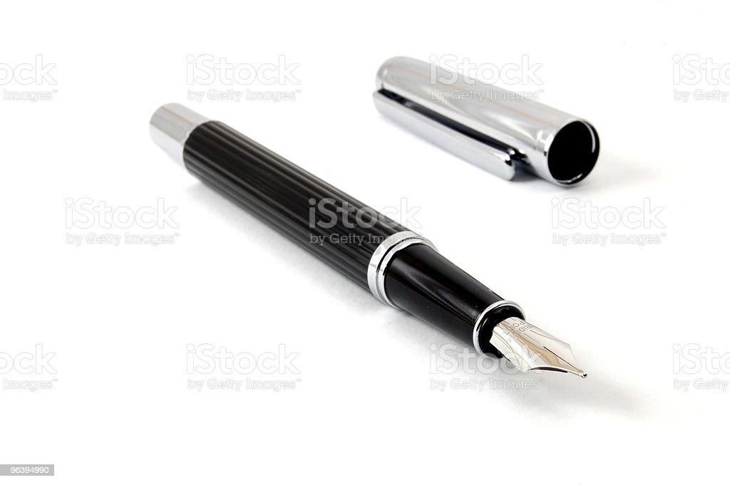 万年筆で分離白背景 - カットアウトのロイヤリティフリーストックフォト