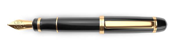 Fountain Pen, Paragraph Divider stock photo