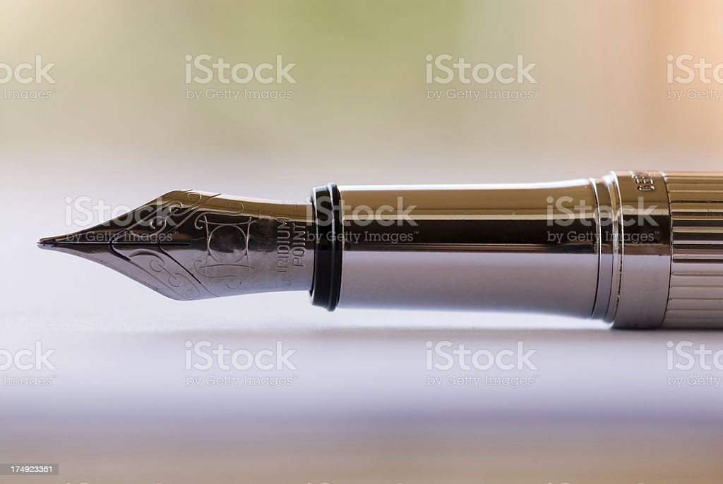 Fountain Pen royalty-free stock photo