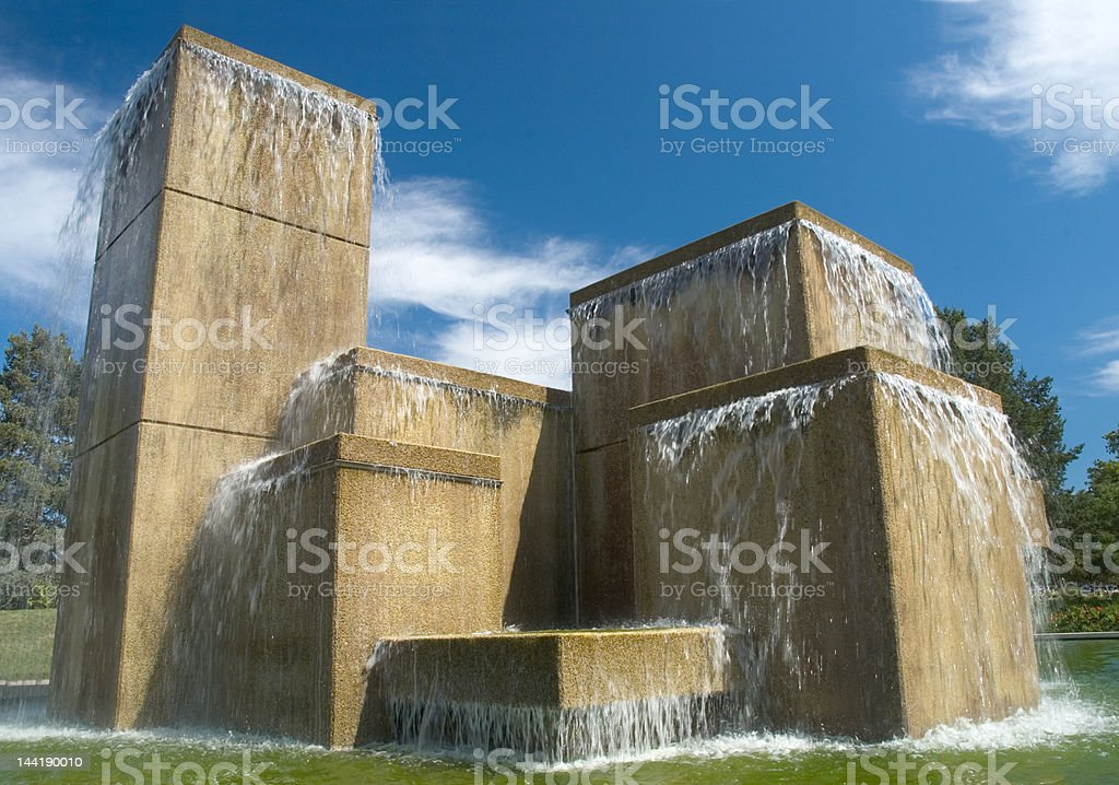 Fountain royalty-free stock photo