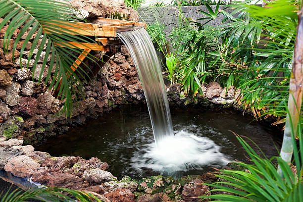la fontaine - fontaine photos et images de collection