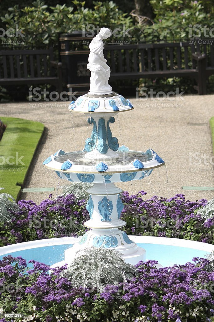 fountain foto royalty-free