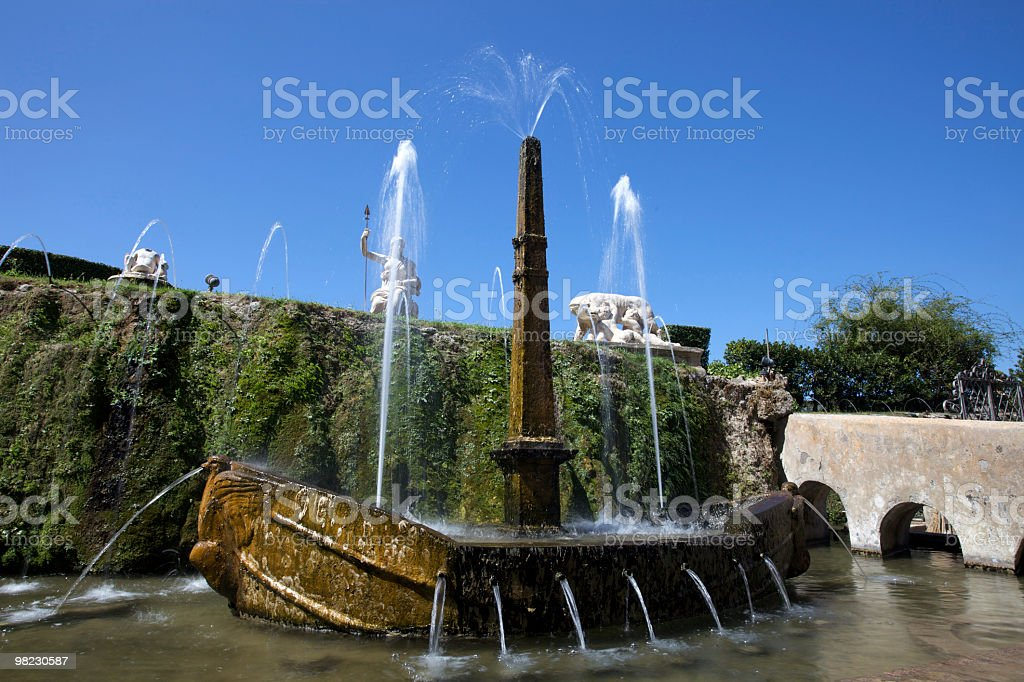 Fontana foto stock royalty-free