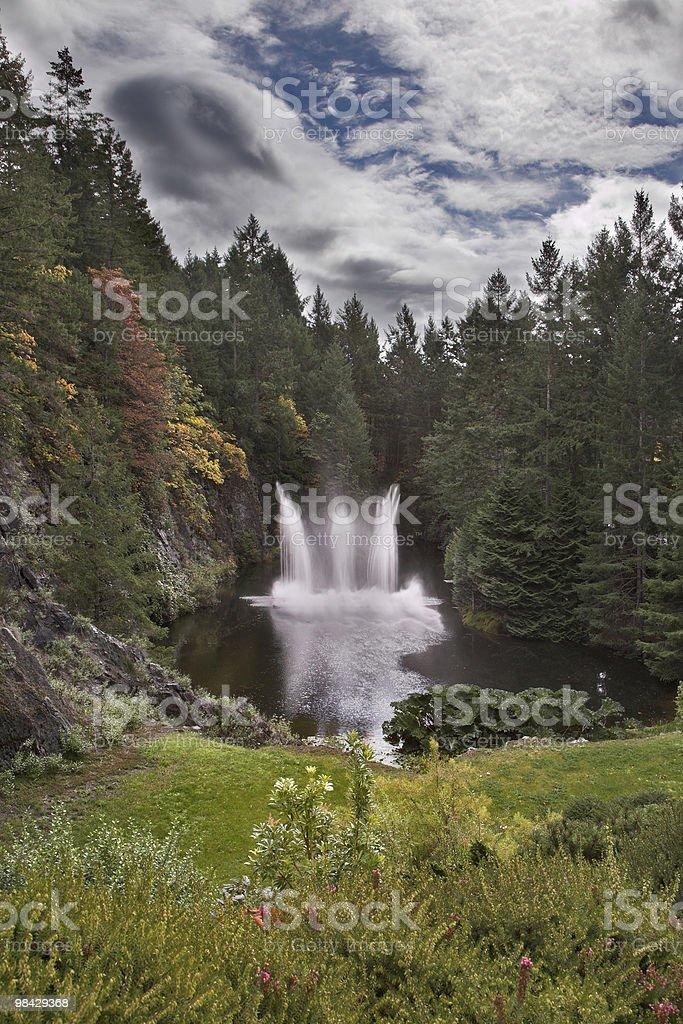Fountain. royalty-free stock photo
