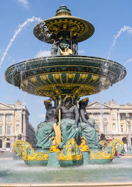 Fontaine place de la concorde - Photo