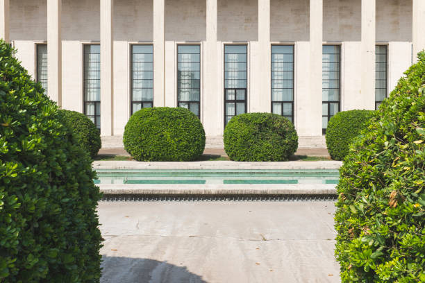 salone delle fontane - roma foto e immagini stock