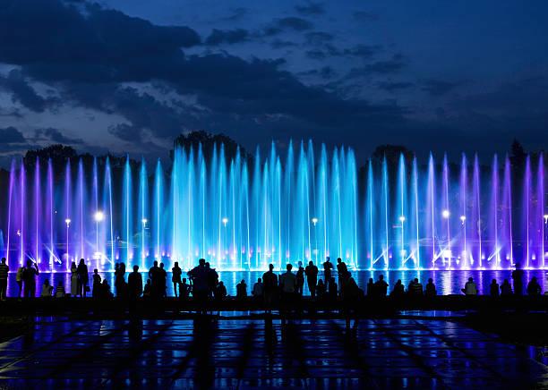 fontaine show - fontaine photos et images de collection