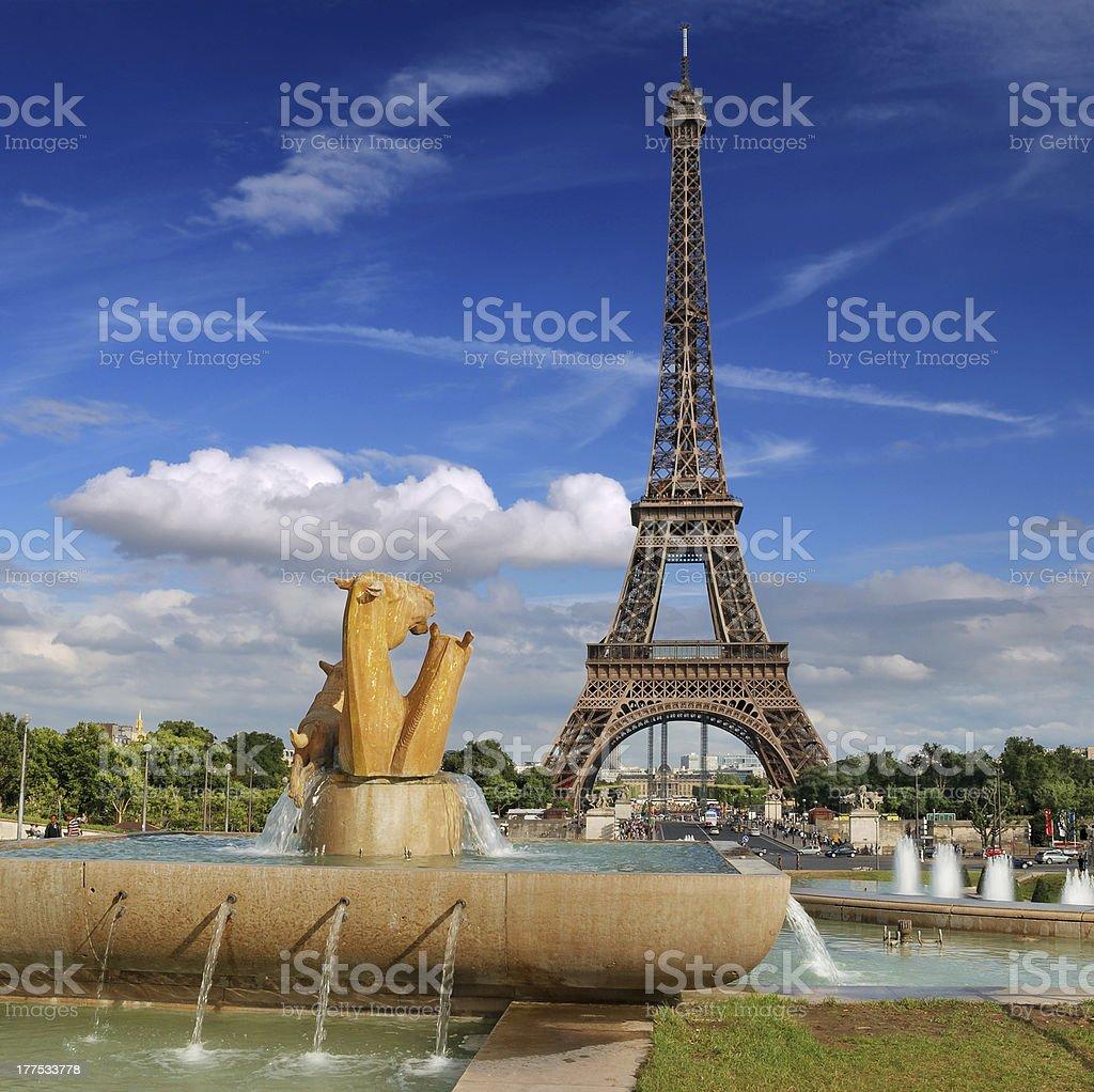 Fountain Varsovie. – Foto