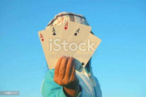 istock Four Aces 115807317