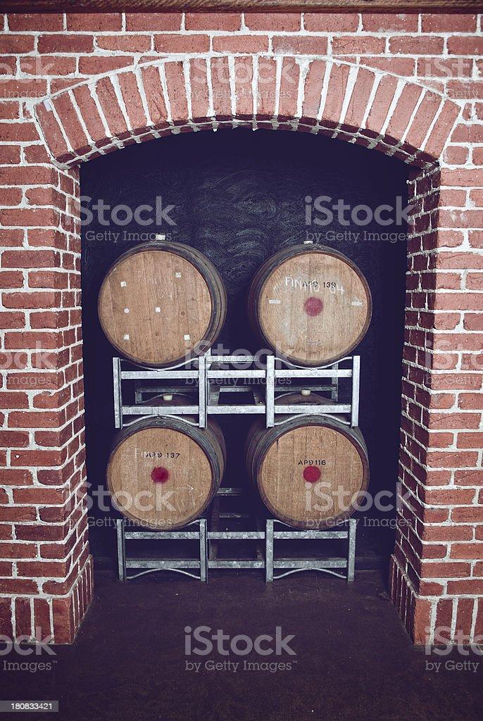 Four Barrels royalty-free stock photo