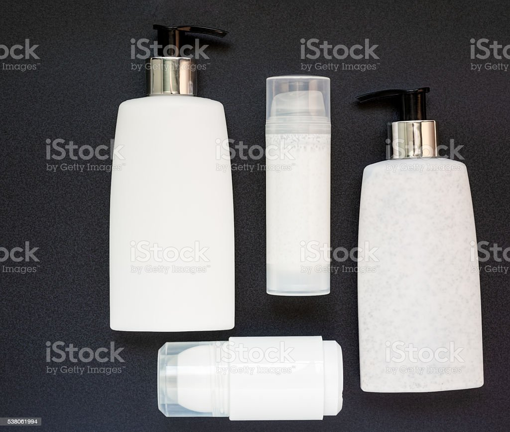 Four Beauty Products stock photo