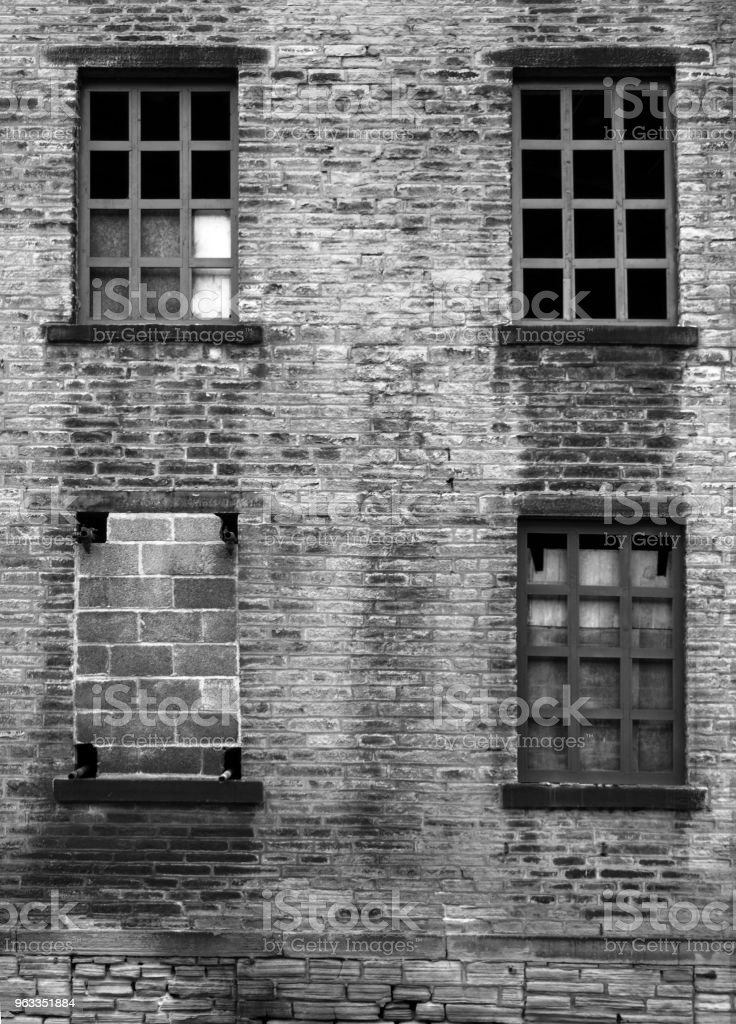 Amazing Four Broken And Bricked Up Windows In A Derelict Abandoned Download Free Architecture Designs Itiscsunscenecom