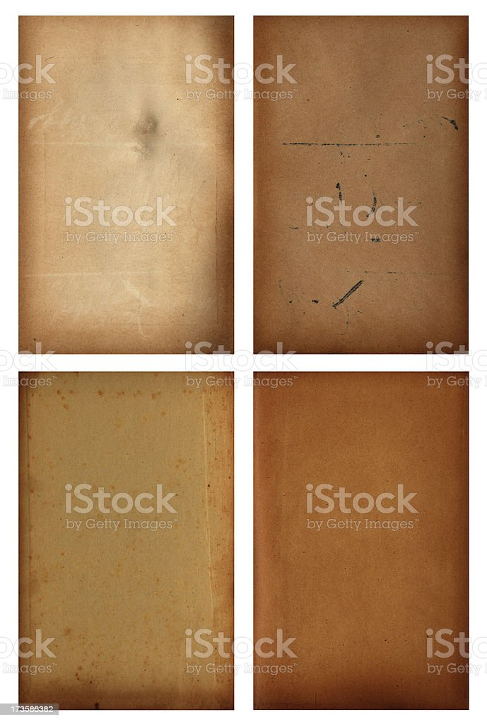 Four brown backgrounds royalty-free stock photo