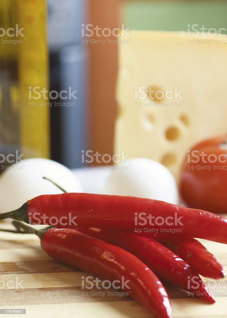four cayennes royalty-free stock photo