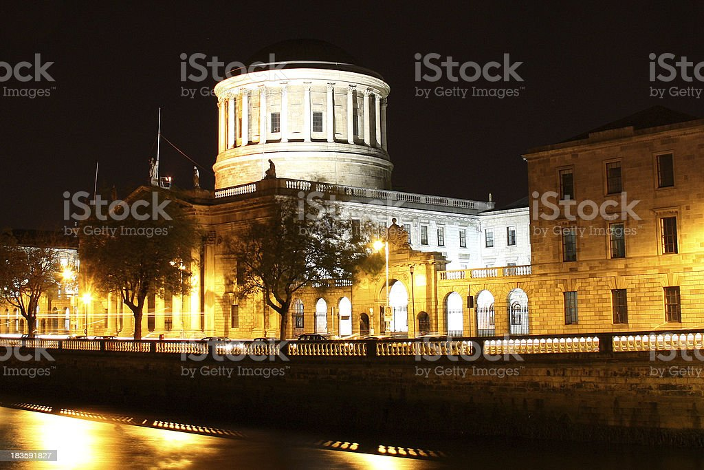 Four Courts Dublin royalty-free stock photo
