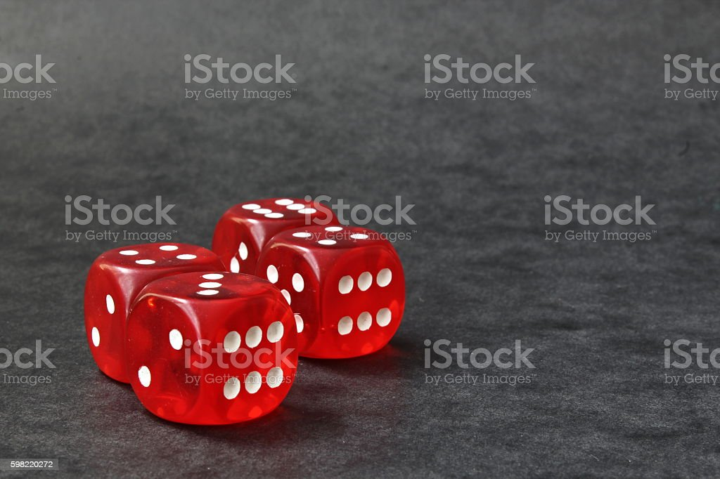 Four cubes foto royalty-free
