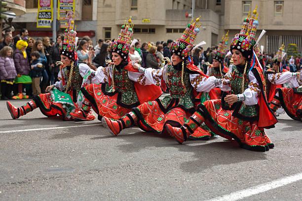 Four Dancers - foto de stock