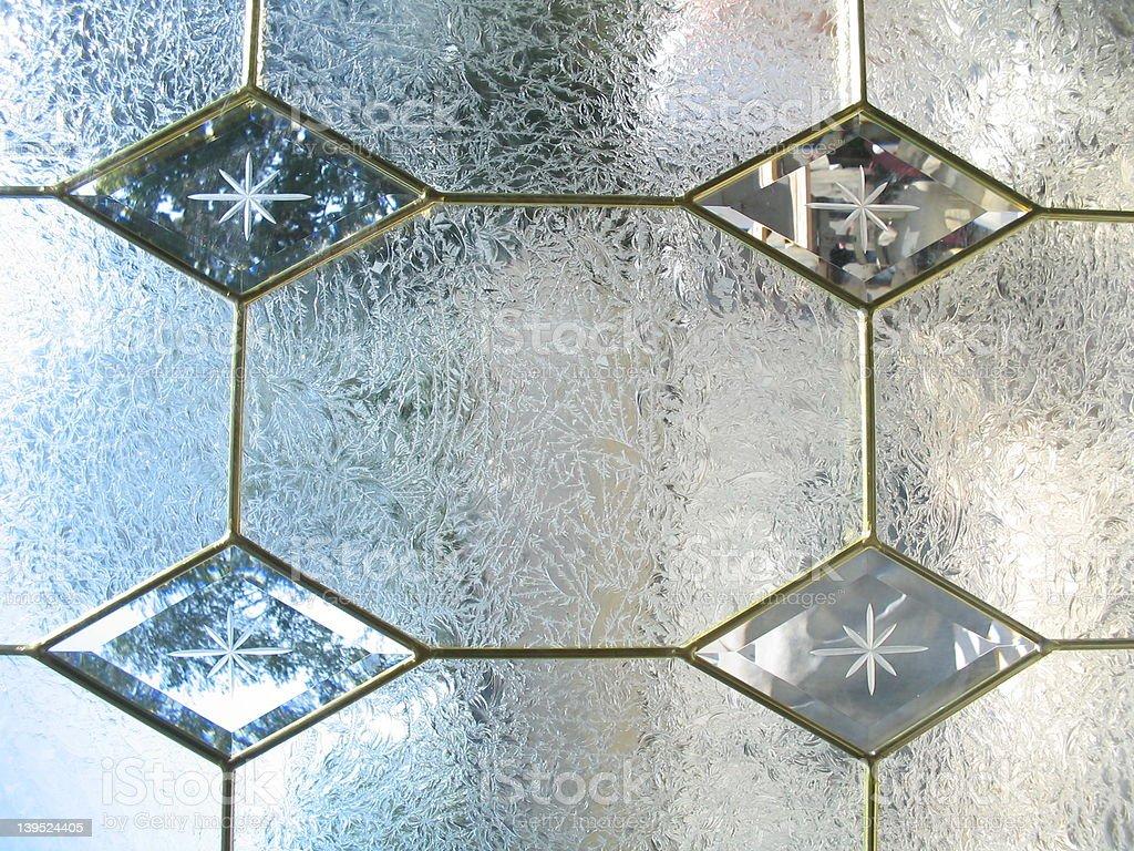 Four diamonds design royalty-free stock photo