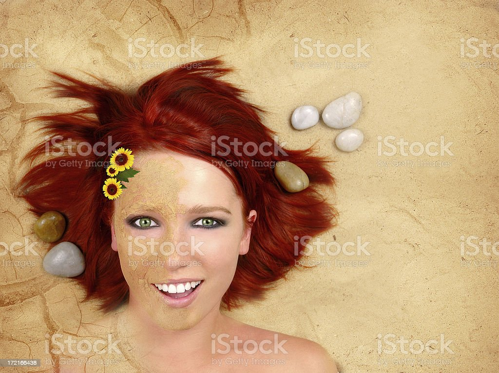 Four Elements - EARTH royalty-free stock photo