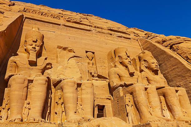 Vier Zahlen, Abu Simbel – Foto
