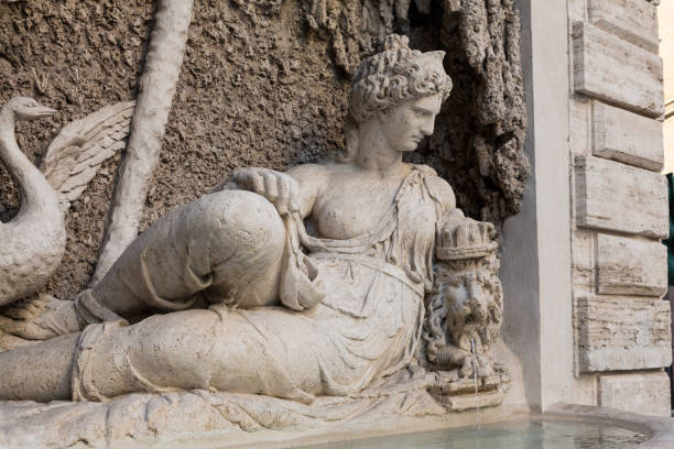 Four Fountains is a group of four Late Renaissance fountains  in Rome, Italy