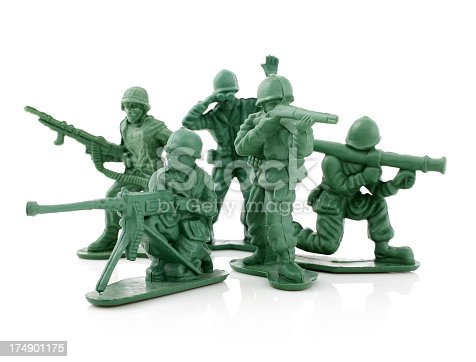 Picture of toy soldiers.
