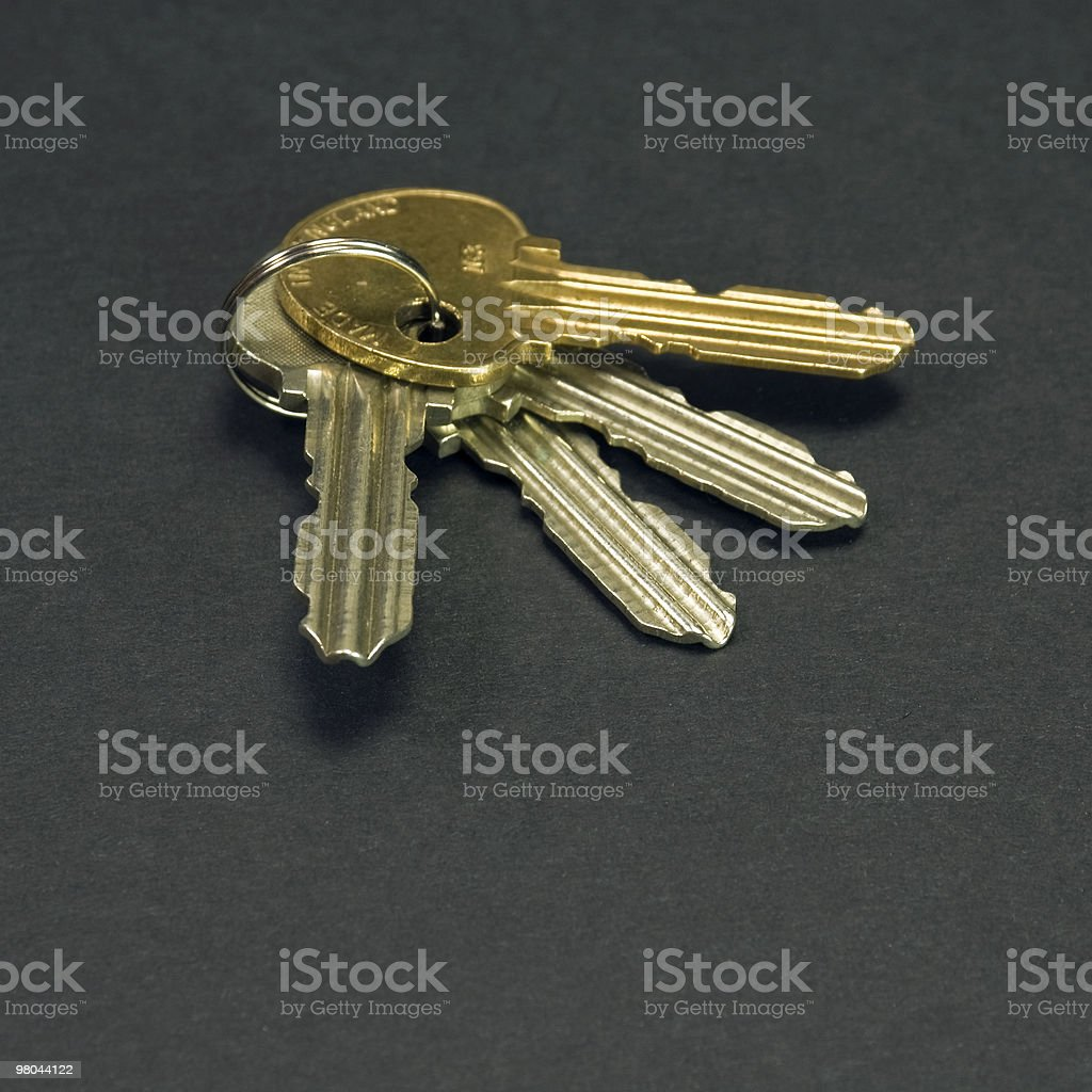 Four keys royalty-free stock photo