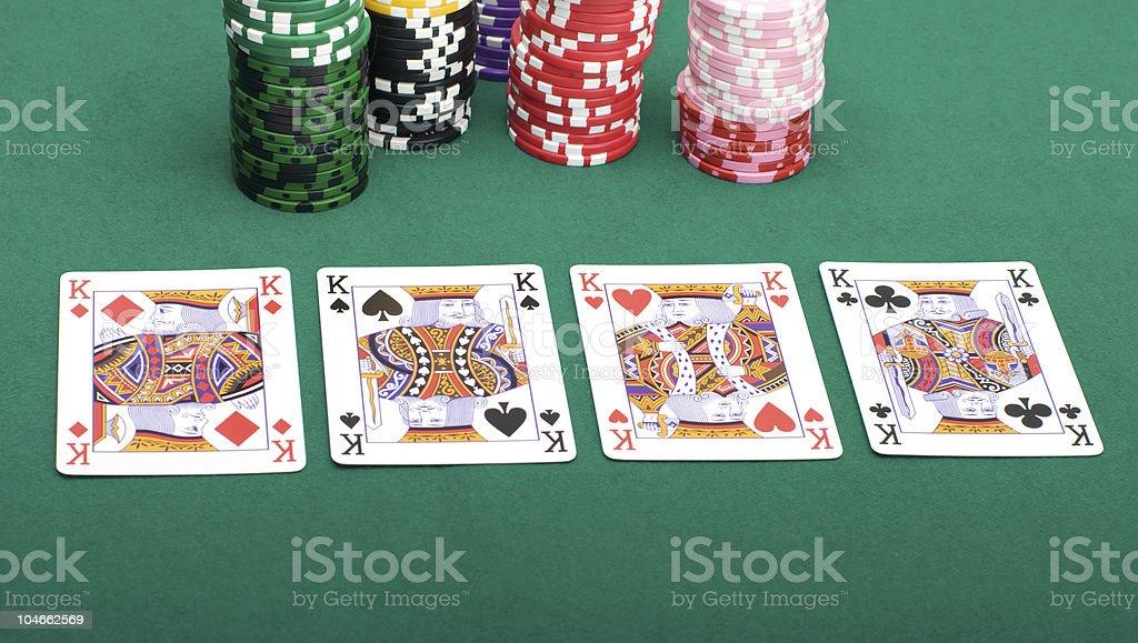 Four kings royalty-free stock photo