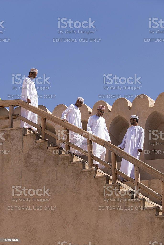 Four Men royalty-free stock photo