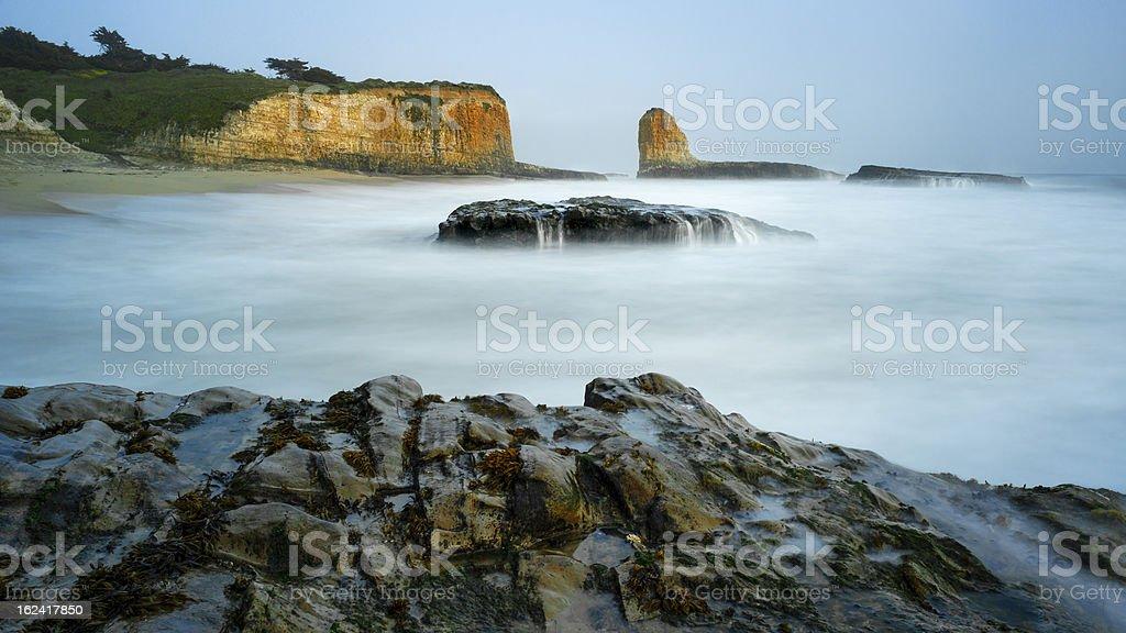 Four Mile Beach, California royalty-free stock photo