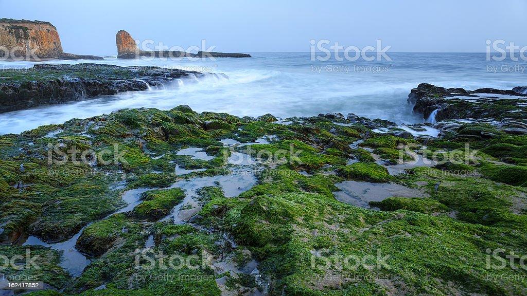Four Mile Beach, California stock photo