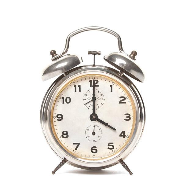 Vier Uhr der Wecker – Foto