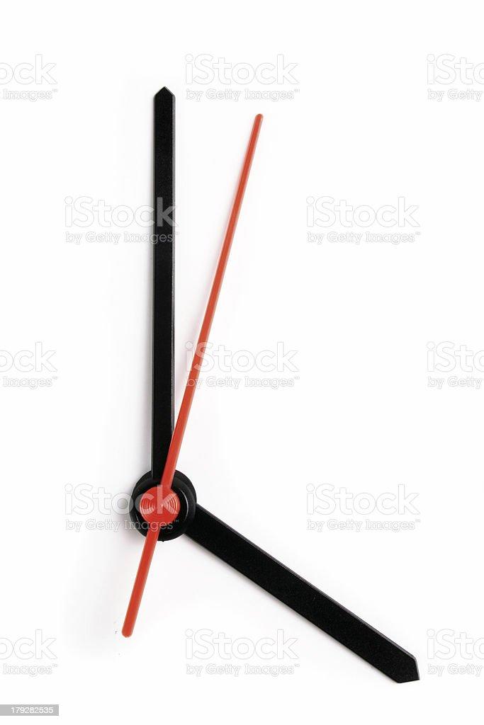 Four o'clock royalty-free stock photo