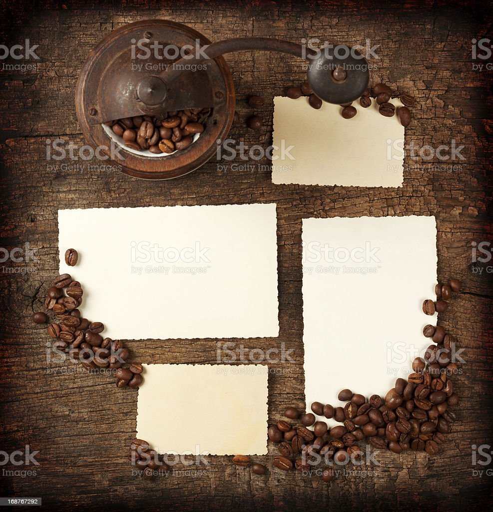 Four old photographs royalty-free stock photo