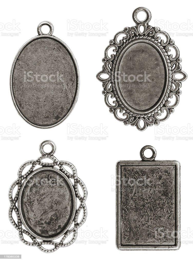 Four pendants stock photo