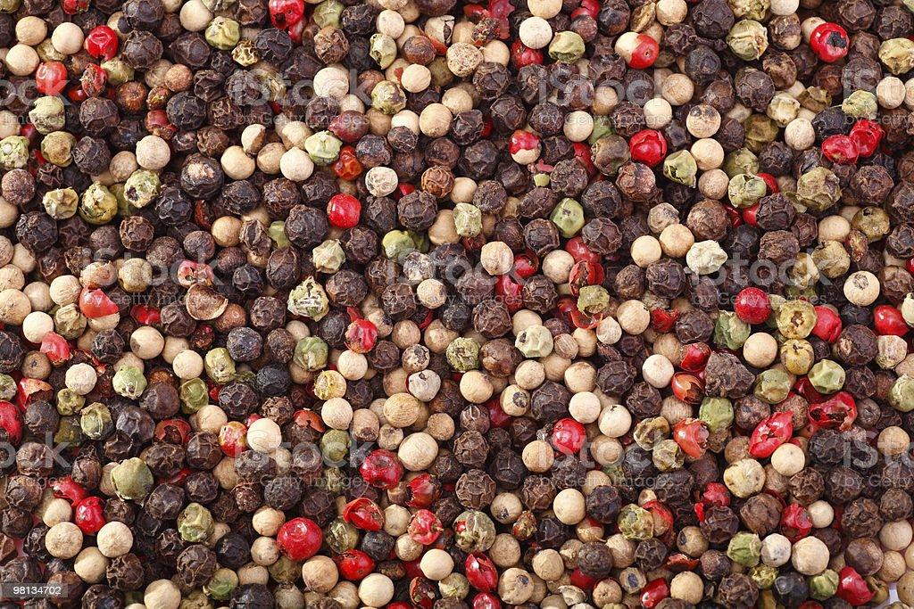 Four Pepper stock photo