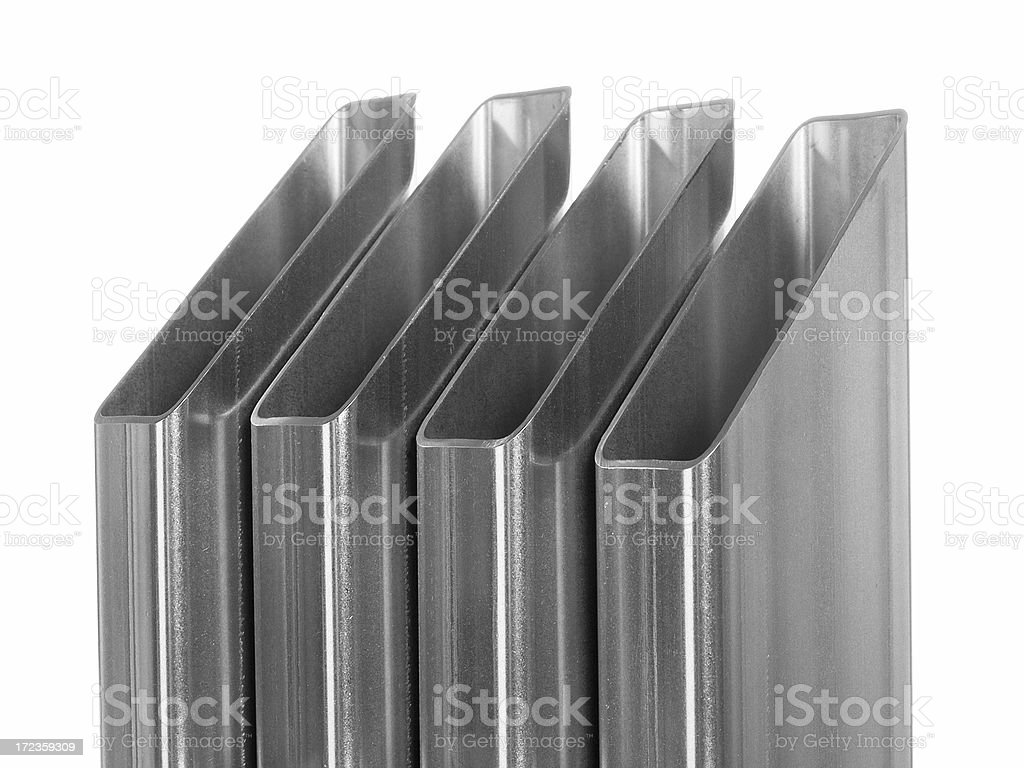 Four pipes royalty-free stock photo