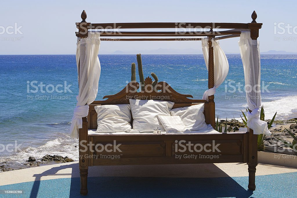 Four Poster View royalty-free stock photo