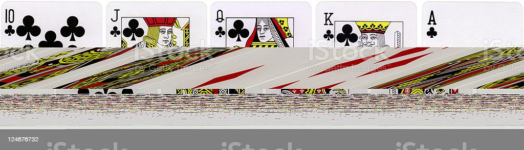 Four Queens royalty-free stock photo