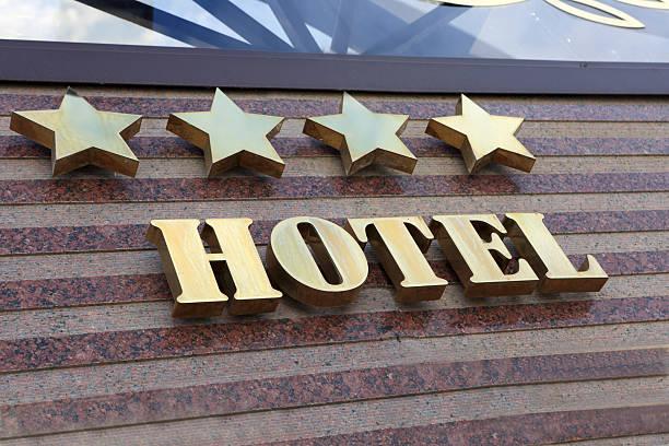 hotel de cuatro estrellas - foto de stock