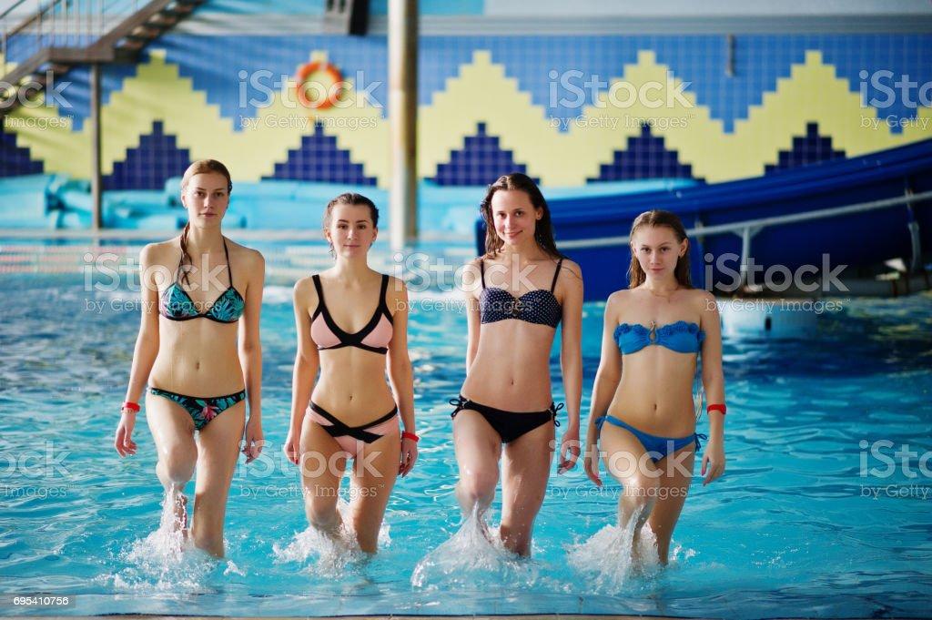 Bikini at water parks