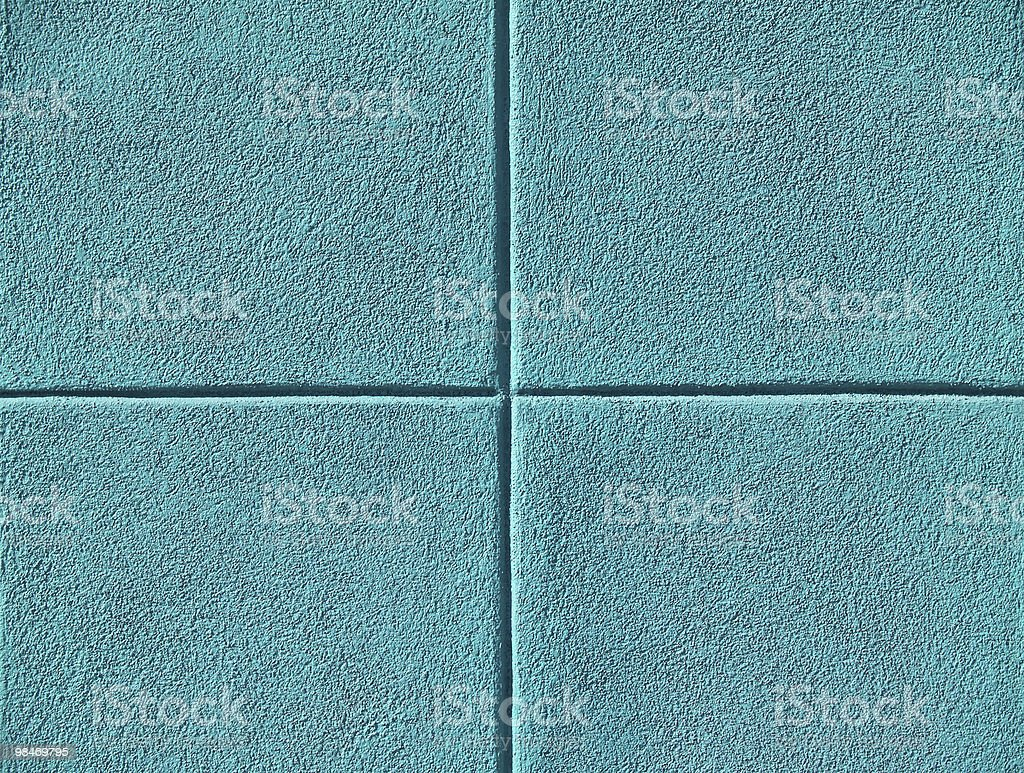 Four Teal or Aqua Blue Squares royalty-free stock photo